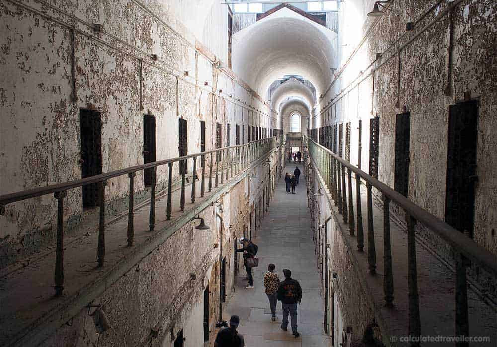 Eastern State Penitentiary in Philadelphia PA - if you dare...