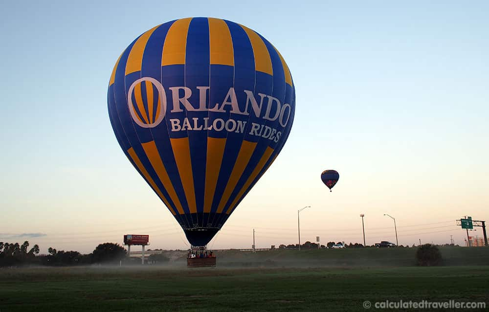 10 Things to see in Kissimmee Florida - Orlando Balloon Ride