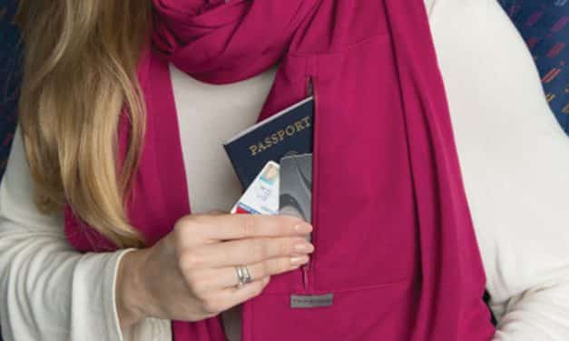 A Pretty Perfect Multipurpose Travel Scarf by Travelon