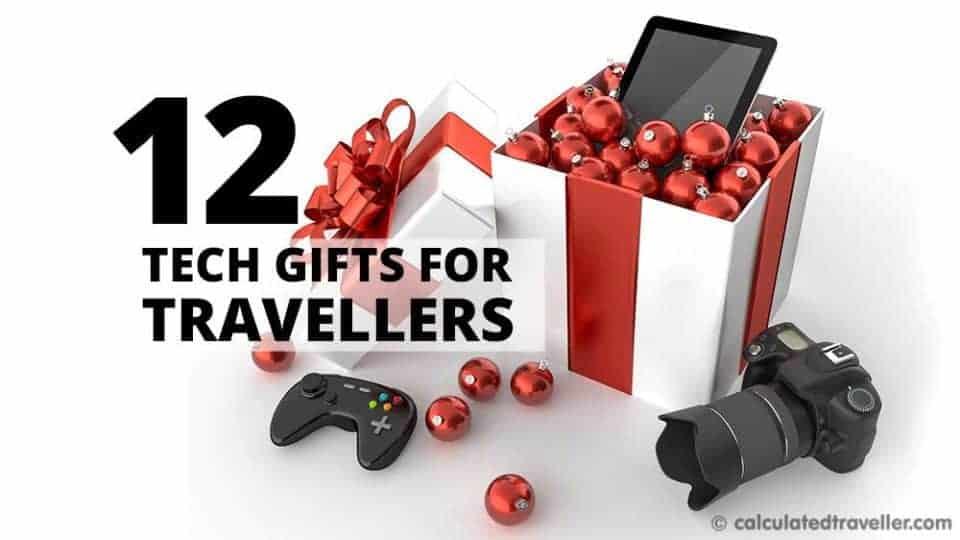 Twelve Great Tech Gifts for the Traveller on your List by Calculated Traveller | #Wish #List #gift #shopping #holiday #Christmas