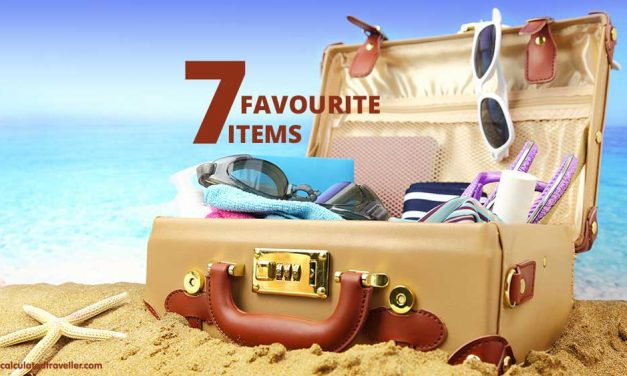 Seven Favourite Items I Pack in my Suitcase