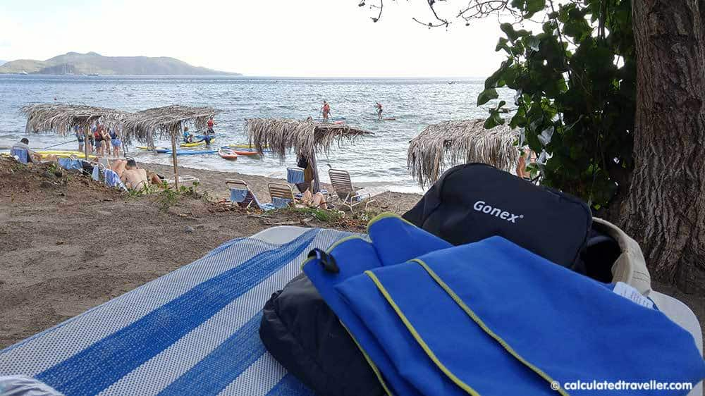 Seven Favourite Items I Pack in my Suitcase - Gonex Backpack and Go2 Towel