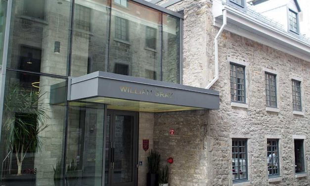 Hotel William Gray – An Upscale Boutique Hotel in Old Montreal Quebec