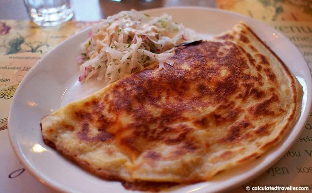 4 Very Different Restaurants in Montreal Quebec - Rabbit Crepe