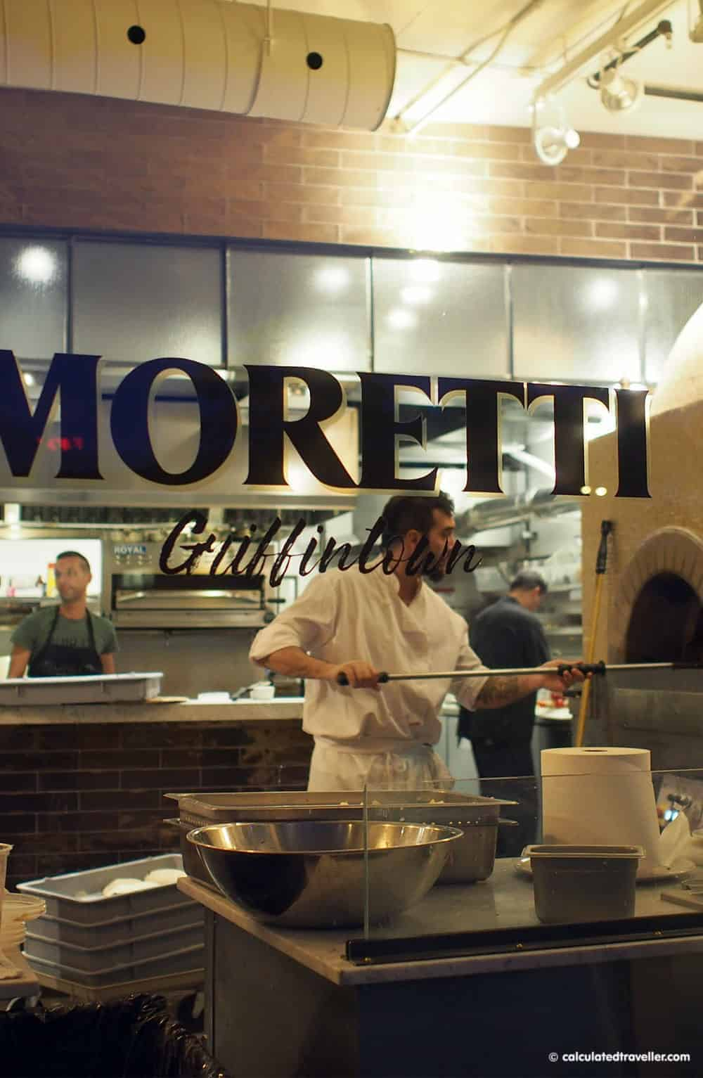 4 Very Different Restaurants in Montreal Quebec - Pizzeria Morreti by Calculated Traveller | #pizza #Montreal #Quebec #restaurant
