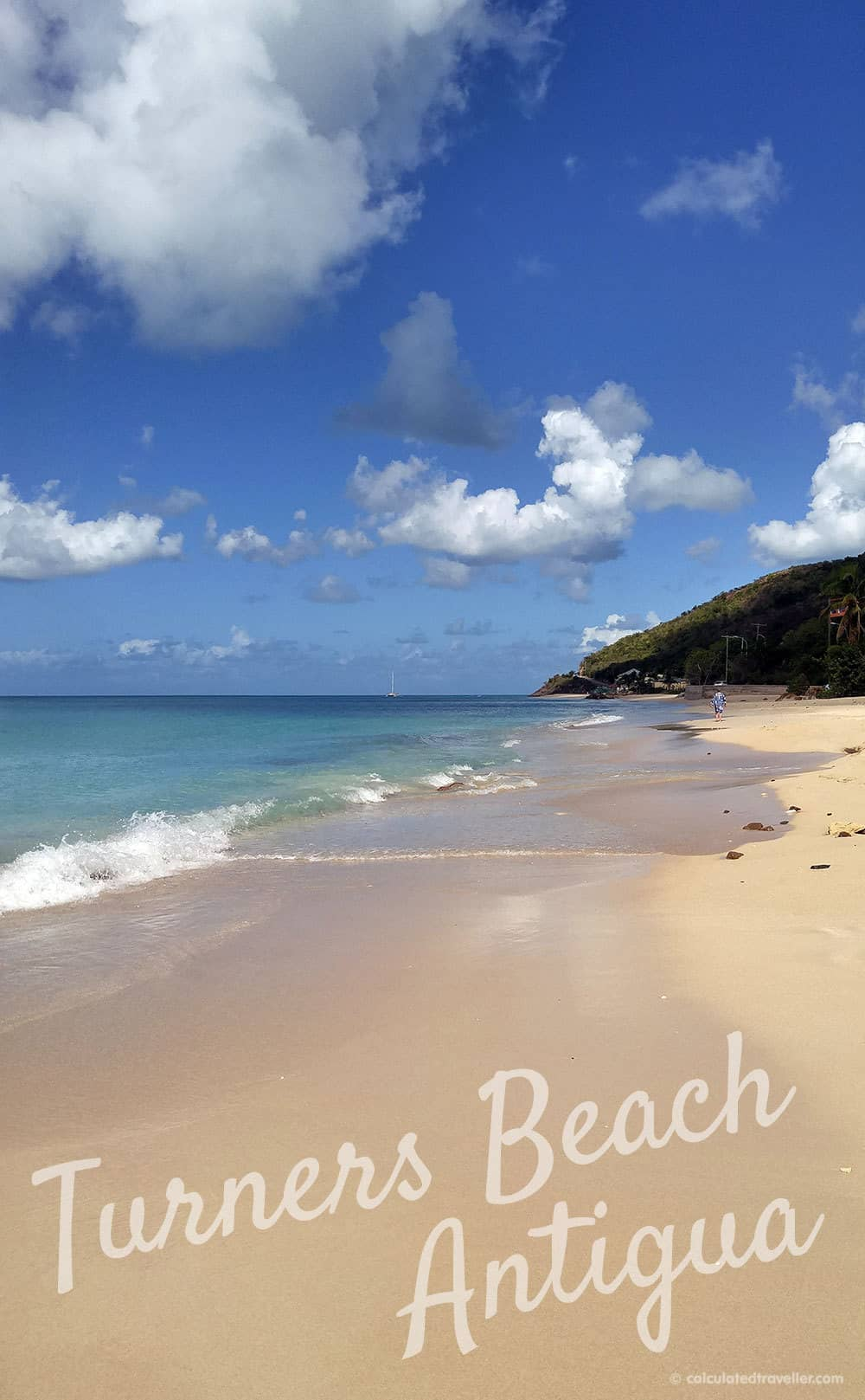One Pristine Day at Turners Beach in Antigua. A how to guide for quiet on the beach. #beach #Antigua #Caribbean #cruise
