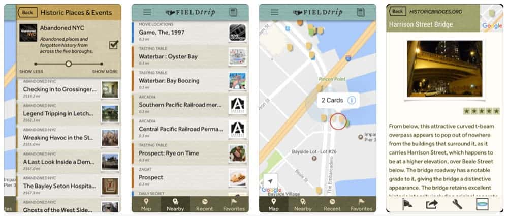 7 Road Trip Travel Apps You Need to Download Right Now - Field Trip App