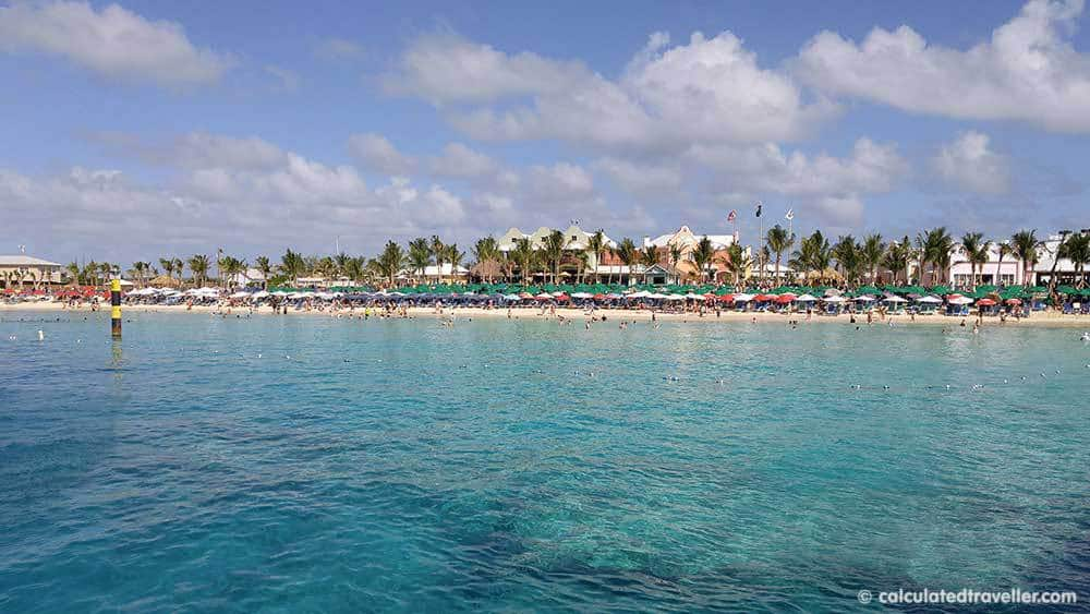 White Sand Seclusion at Governor's Beach Grand Turk, Turks and Caicos - Cruise Port Terminal Beach