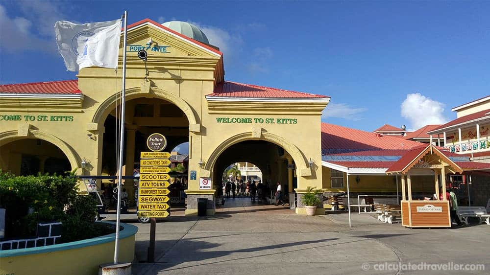 A Relaxing Day with the Black Sands of Shipwreck Beach St. Kitts - Cruise Terminal Taxi Stand
