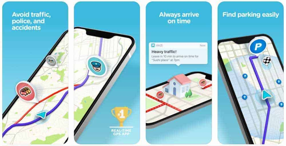 7 Road Trip Travel Apps You Need to Download Right Now - Waze App