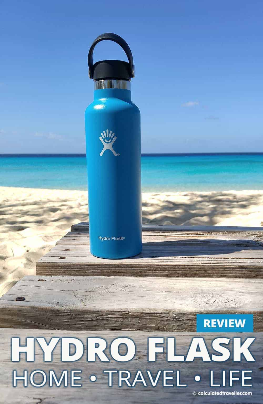 Hydro Flask Review. Home-Life and Travel-Life Hydration when you want to keep hot things hot and cold things cold by Calculated Traveller