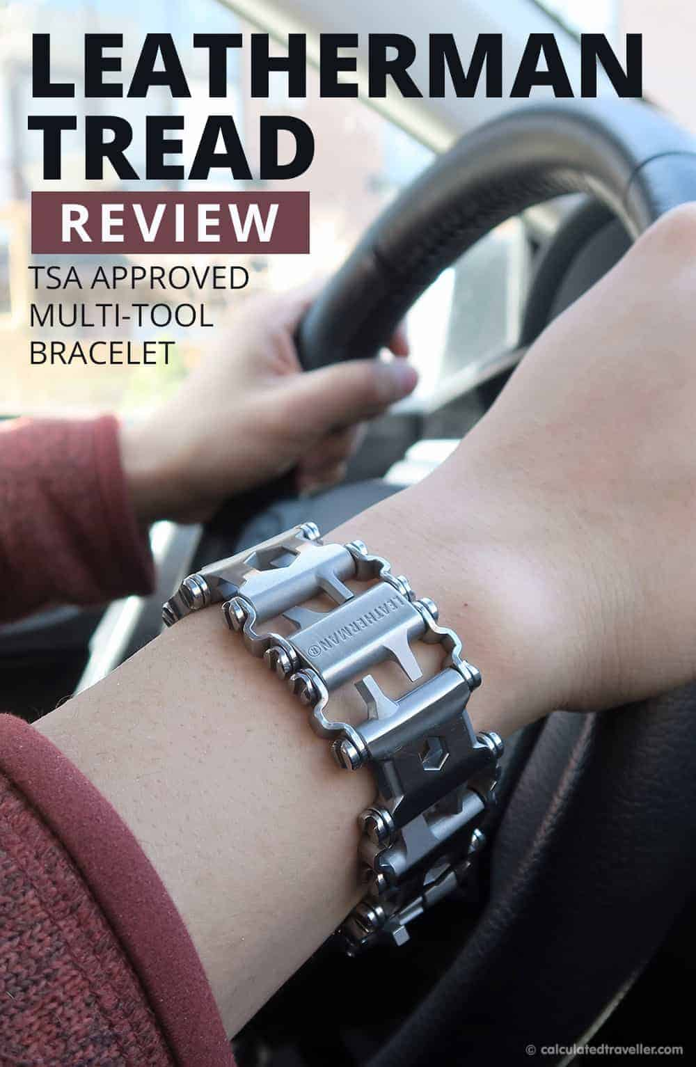 Leatherman Tread Review for Travel by Calculated Traveller