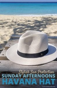 Stylish Sun Protection with the Sunday Afternoons Havana Hat Review by Calculated Traveller