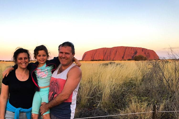 Exploring Australia with Kids - Five places to see and things to do - Uluru