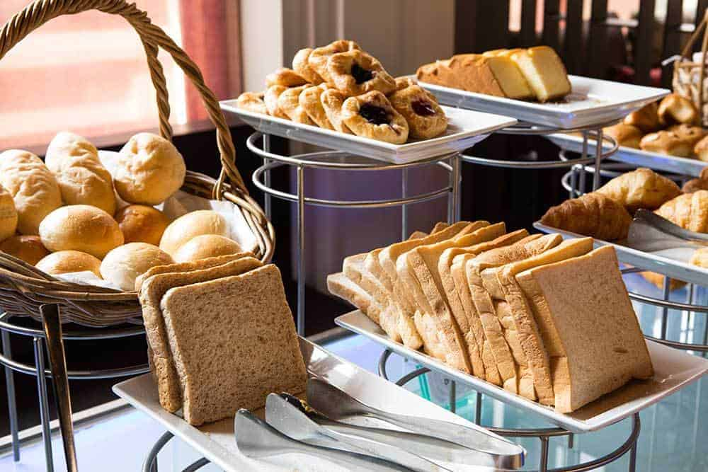 Five Tips for Eating at the Hotel Breakfast Buffet - Bread