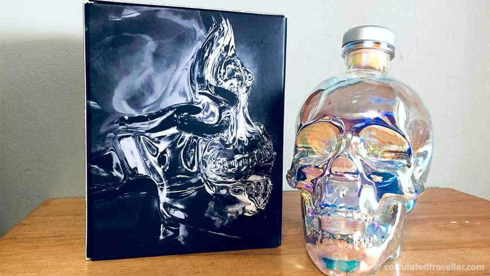 My Northern Lights Bucket List with Crystal Head Vodka - Photos of Box and Bottle