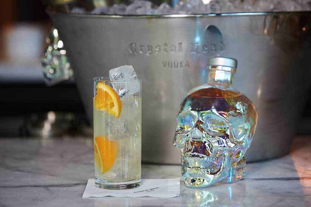 My Northern Lights Bucket List with Crystal Head Vodka - Smoked Mule Cocktail Recipe