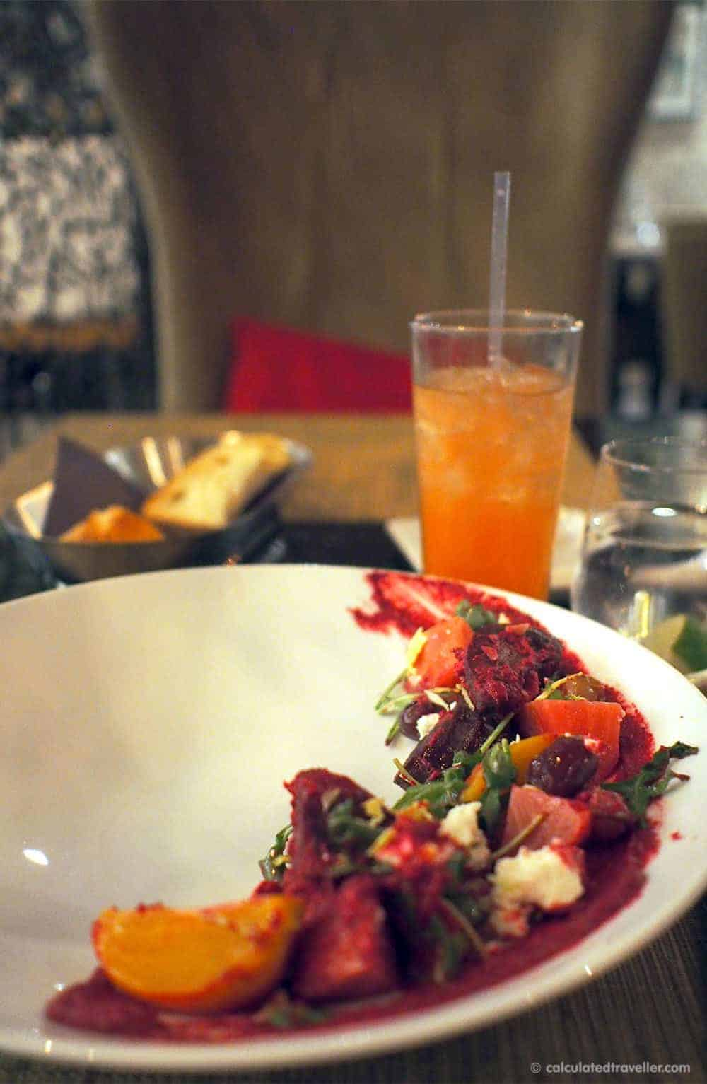 A Mid-Week ME-Time Escape at Hockley Valley Resort and Spa - Beet Salad
