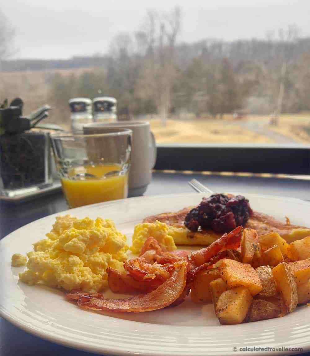 A Mid-Week ME-Time Escape at Hockley Valley Resort and Spa - Breakfast