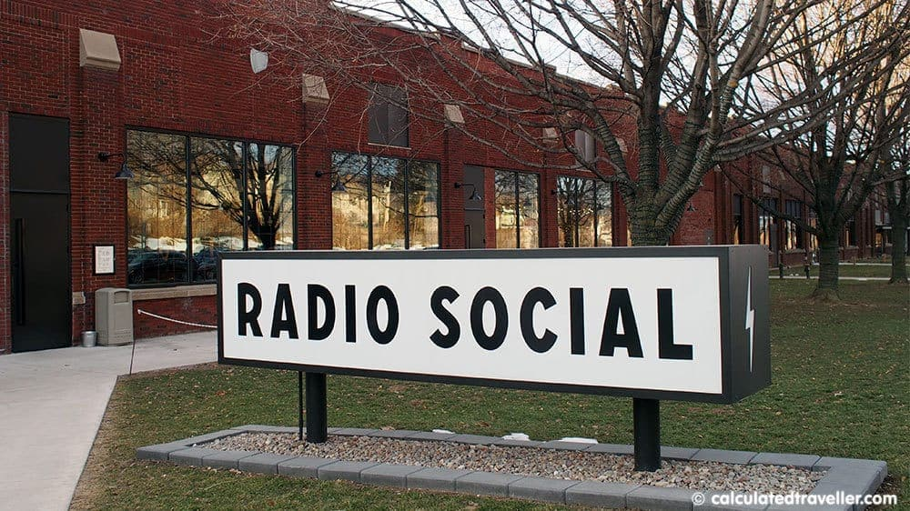 Radio Social Rochester New York - Bar, Bites, and Bowling - Exterior View