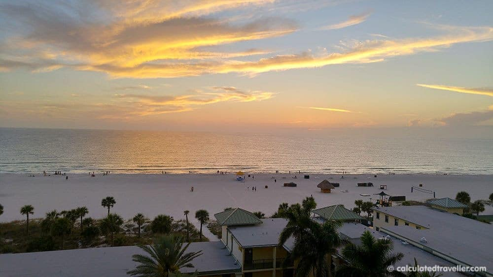 Fun in the Sun on St. Pete Beach Florida at Sirata Beach Resort - Sunset