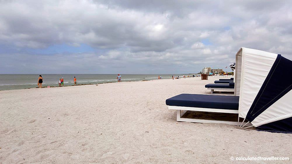 Fun in the Sun on St. Pete Beach Florida at Sirata Beach Resort - St Pete Beach Cabana