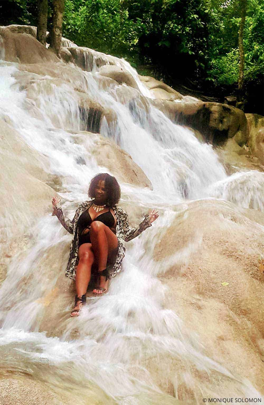 A Local Jamaican Guide to the Top Things to do in Ocho Rios - Guest author Monique Solomon at Dunn's River Falls