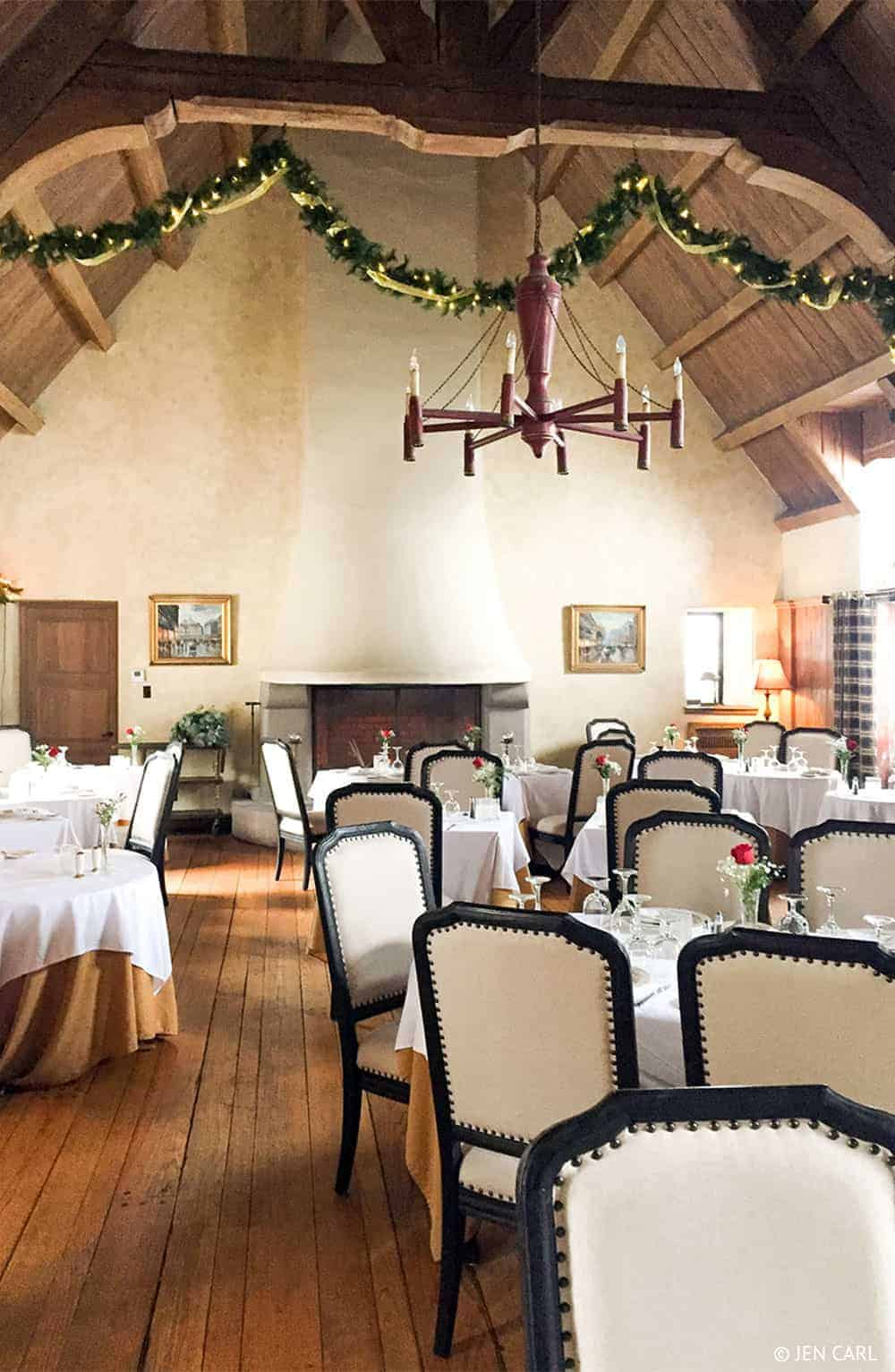 The French Manor Inn and Spa - A Couples Getaway in the Heart of the Poconos - Restaurant Dining Room