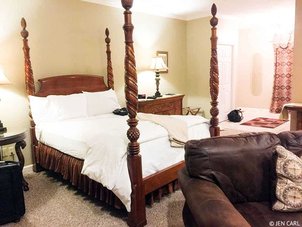 The French Manor Inn and Spa - A Couples Getaway in the Heart of the Poconos - The Nice Suite