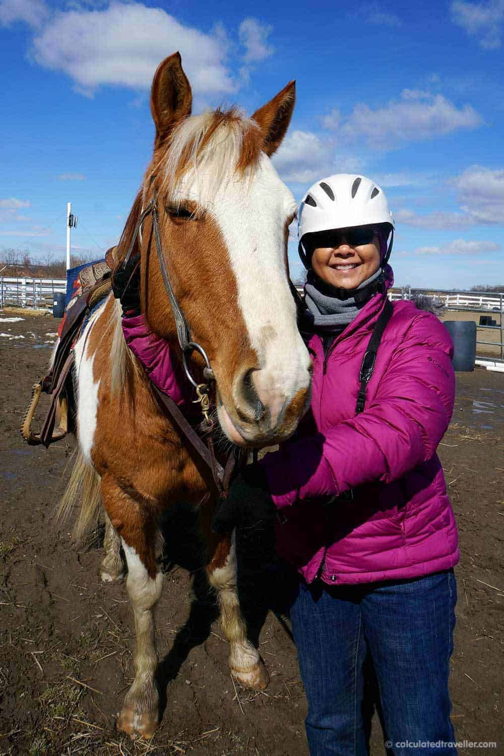 Horseback Riding with Painted Bar Stables at Watkins Glen NY with Calculated Traveller | #horse #trail #ride #NewYork #WatkinsGlen #FingerLakes #USA #travel