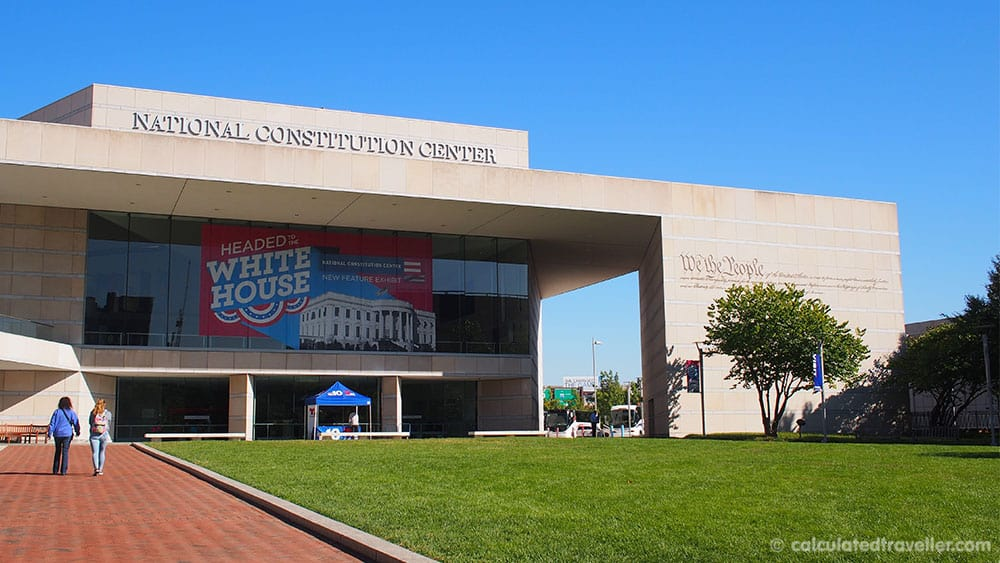 Enjoying Philly with a Philadelphia Big Bus Tour - Constitution Center