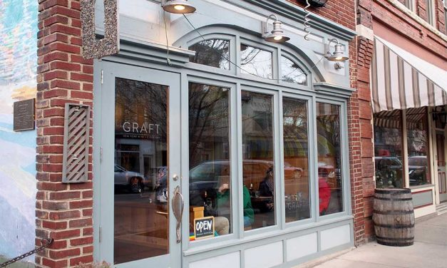 Graft Wine and Cider Bar, Watkins Glen New York