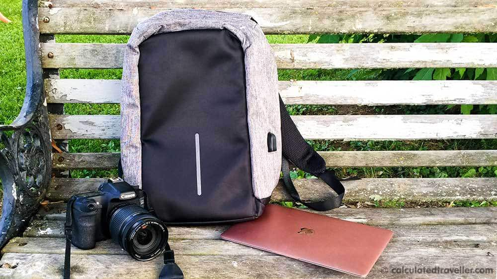 ab4cc63ddaad Review  Super Secure Anti-Theft Backpack – Charging at Home and On the Go