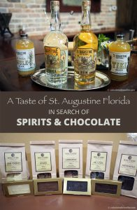 A Taste of St. Augustine Florida in Search of Spirits and Chocolate - Whetstone Chocolates of St. Augustine and St. Augustine Distillery Co. Factory Tours