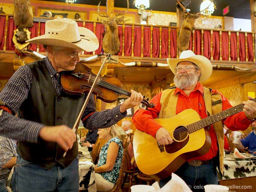 Entertainment at the Big Texan Steak Ranch and Brew in Amarillo Texas