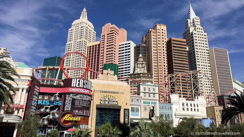 Las Vegas on a Budget: When to Splurge and When to Save - Exterior New York New York Hotel Casino