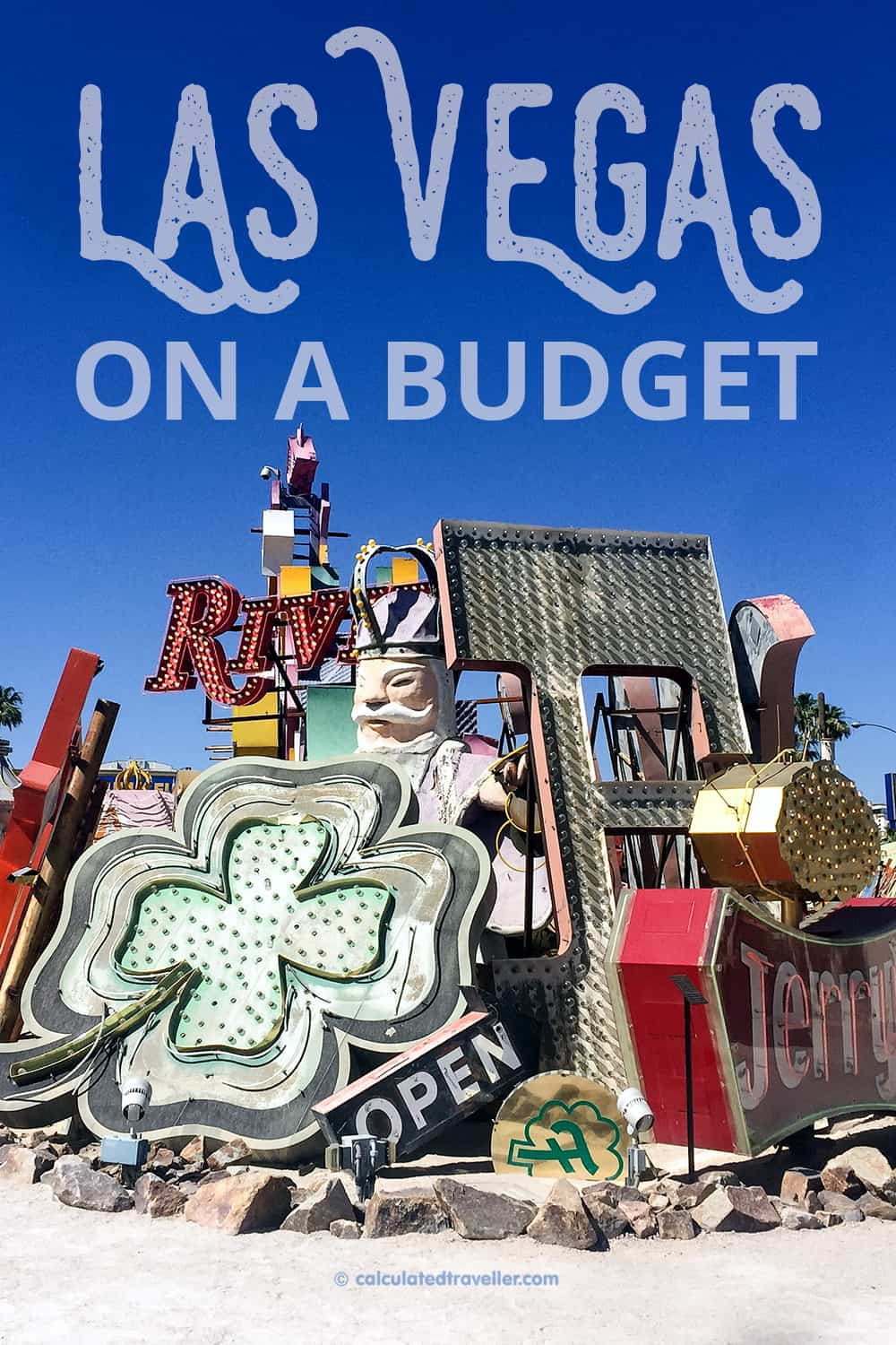 Las Vegas on a Budget: When to Splurge and When to Save - Neon Museum | #travel #LasVegas #USA #Nevada #Neon #Museum #Tour