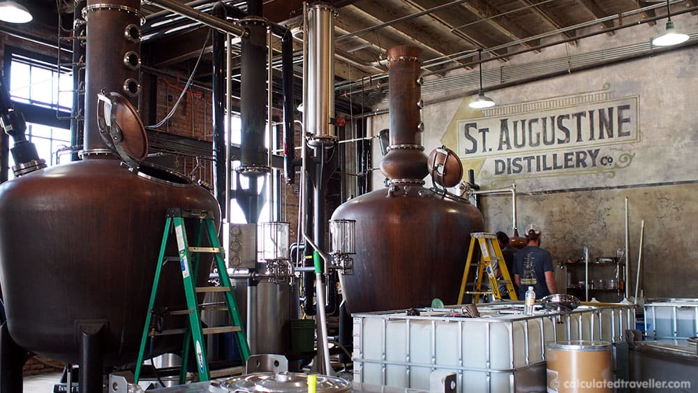 A Taste of St. Augustine Florida in Search of Spirits and Chocolate - St. Augustine Distillery Co. Factory