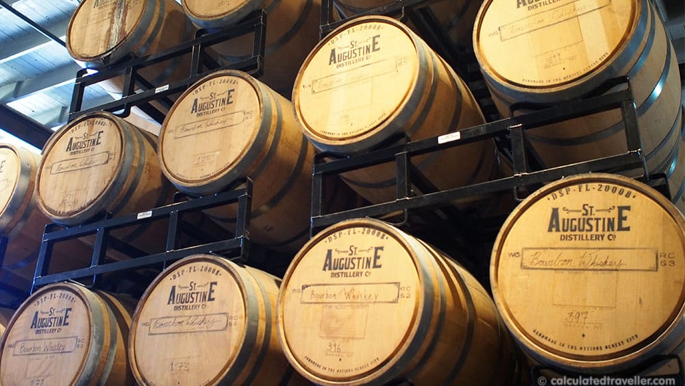 A Taste of St. Augustine Florida in Search of Spirits and Chocolate. St. Augustine Distillery Co. Barrel Room