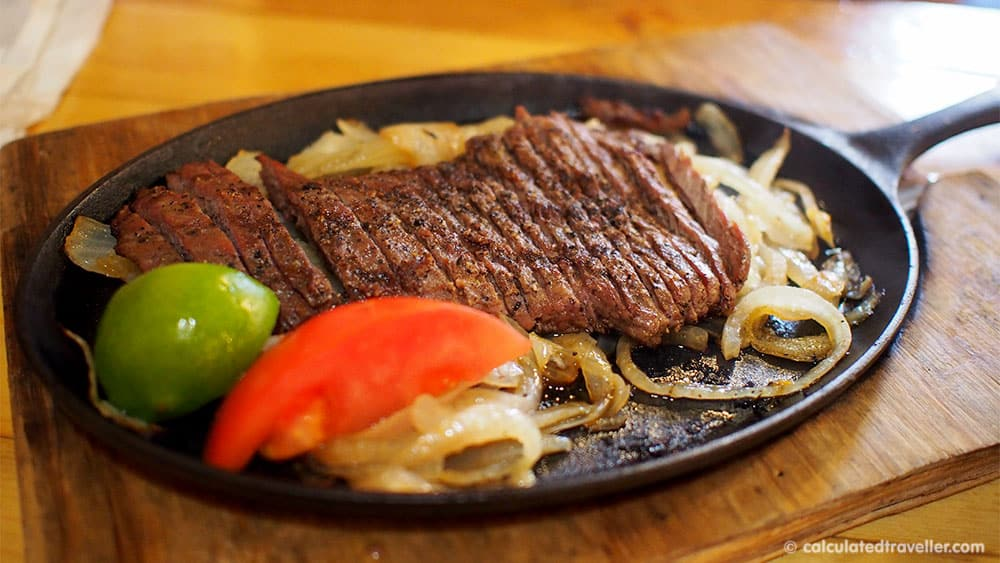 Tex Mex Good Eats at Braceros Mexican Grill and Bar Amarillo Texas - Beef Fajita