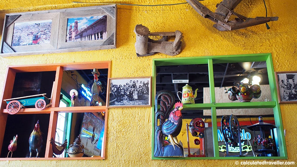 Tex Mex Good Eats at Braceros Mexican Grill and Bar Amarillo Texas - decor