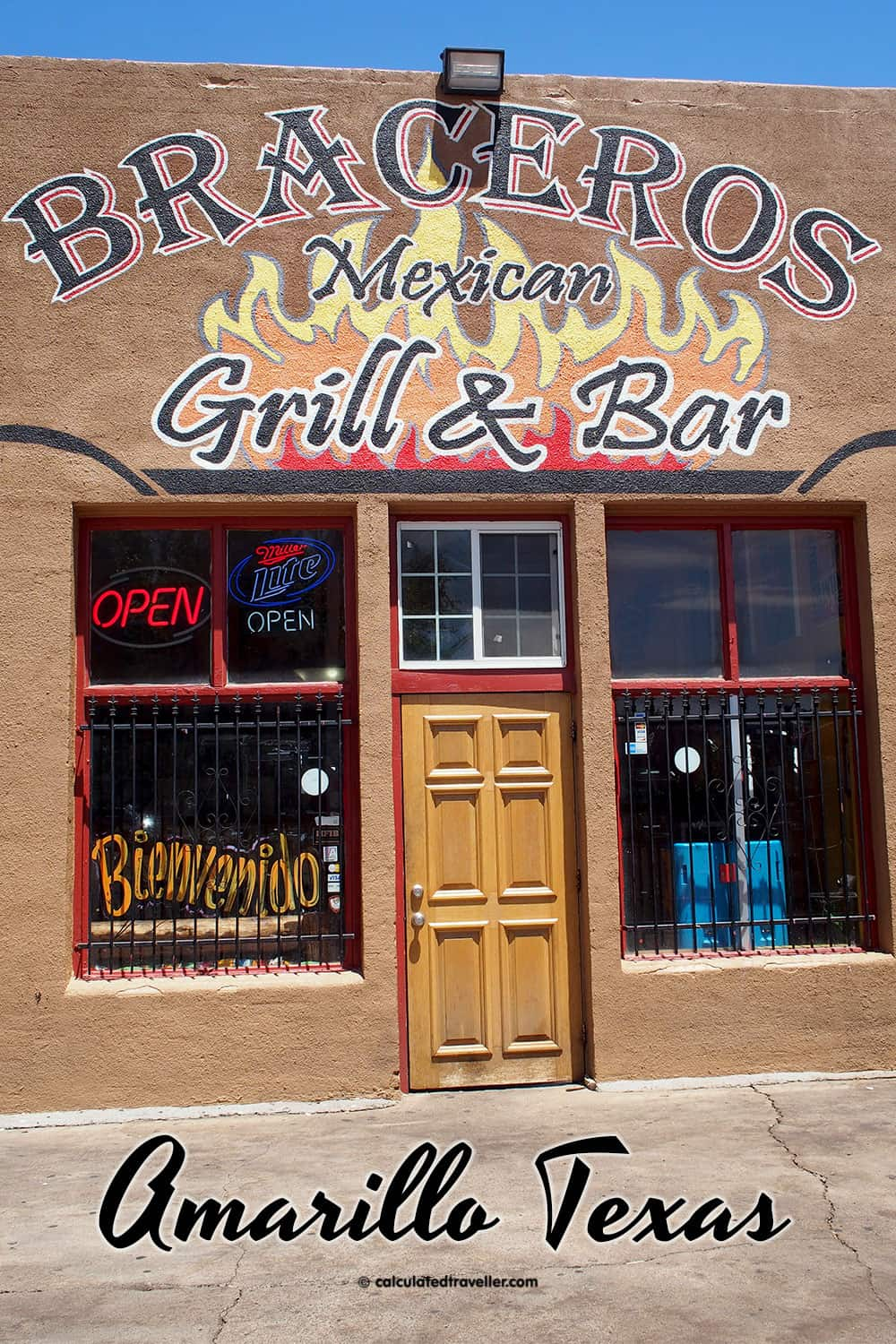 Tex Mex Good Eats at Braceros Mexican Grill and Bar Amarillo Texas. So delicious we ate here twice in one day | #TexMex #Restaurant #Amarillo #Texas #Route66 #USA