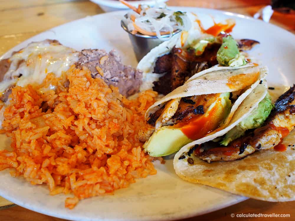 Tex Mex Good Eats at Braceros Mexican Grill and Bar Amarillo Texas - Grilled Fish Tacos