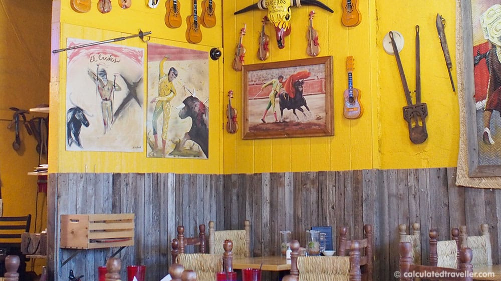 Tex Mex Good Eats at Braceros Mexican Grill and Bar Amarillo Texas - Interior view