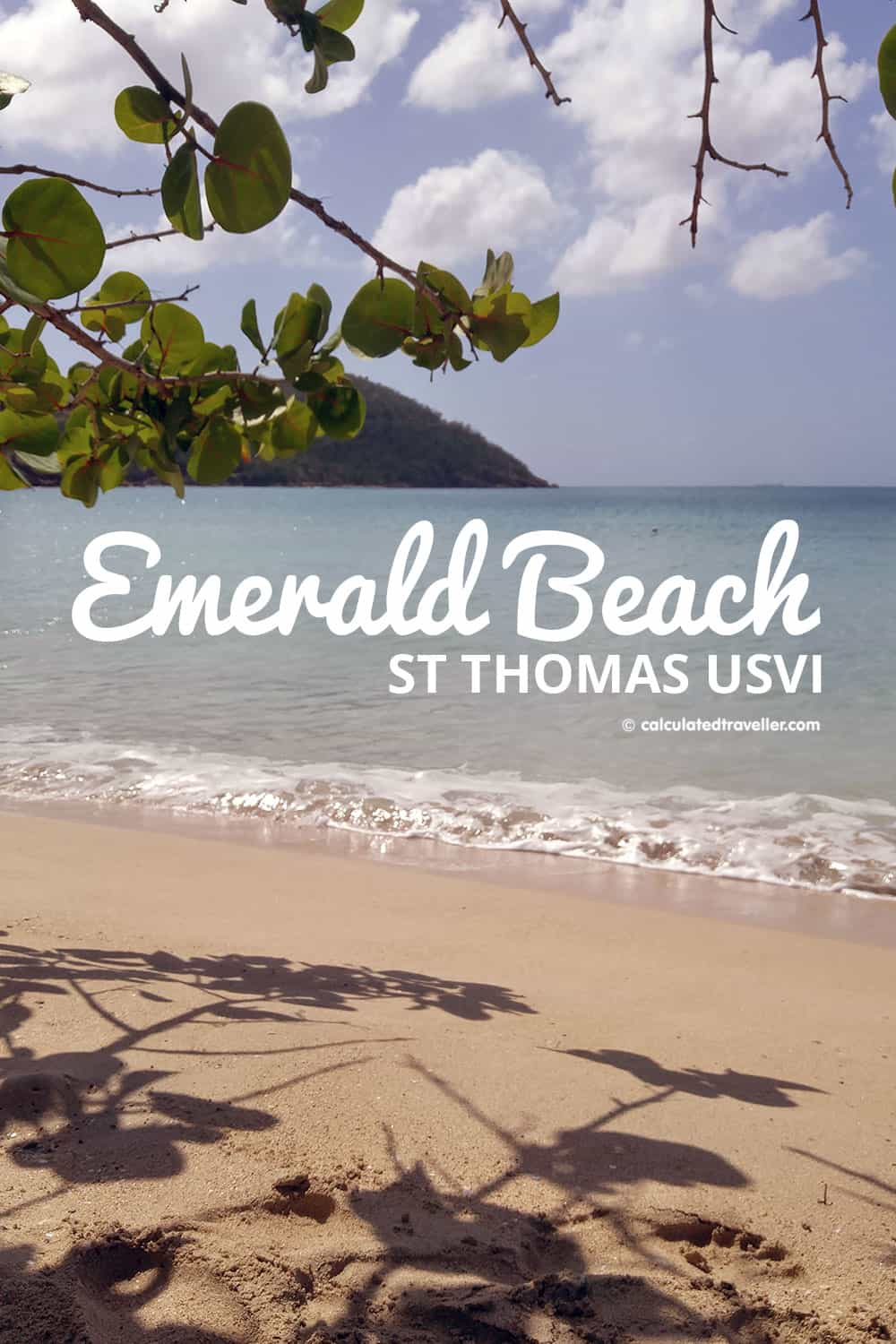 An Enjoyable Day on Emerald Beach in St Thomas USVI | #beach #USVI #StThomas #Caribbean