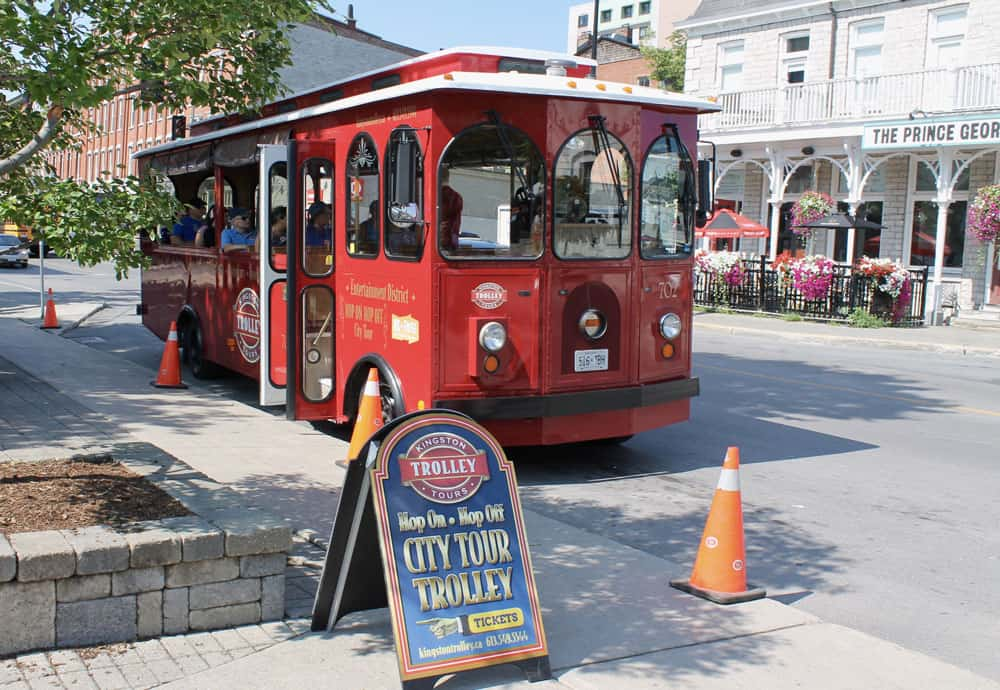Welcome to the Limestone City of Kingston, Ontario - Hop on Hop off Trolley