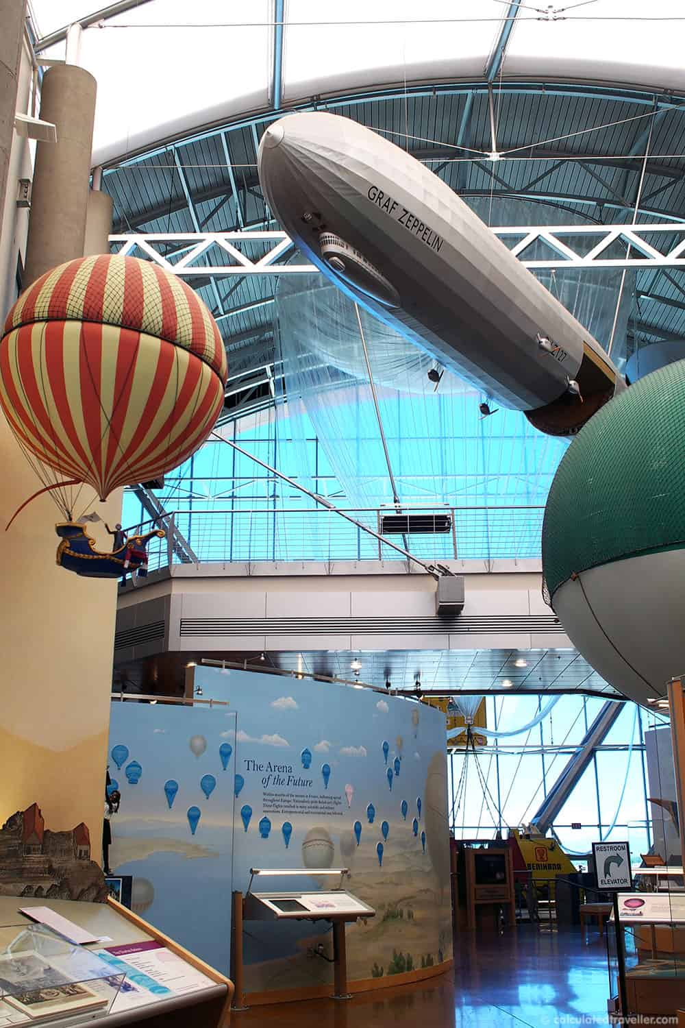 Aviation Museums Around the World - Anderson Abruzzo Albuquerque International Balloon Museum Albuquerque, New Mexico | #travel #museum #USA #NewMexico #Albuquerque
