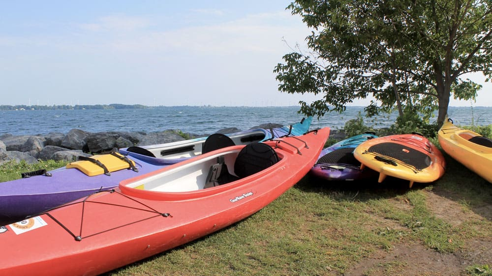 Welcome to the Limestone City of Kingston, Ontario - Kayaking and Watersports on Lake Ontario