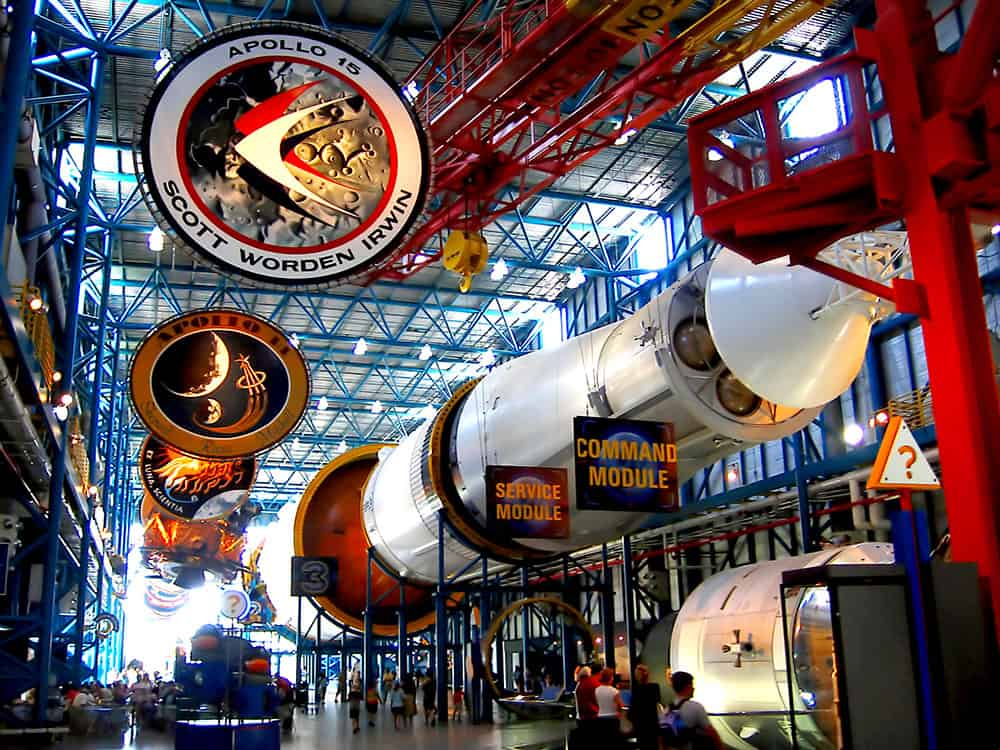 Aviation Museums Around the World - NASA Kennedy Space Center
