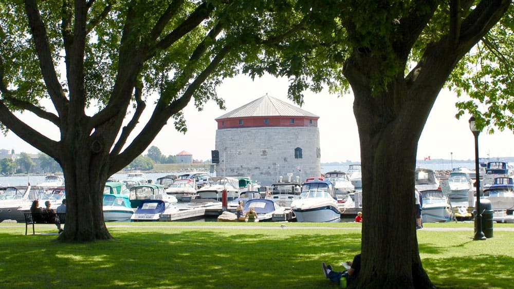 Welcome to the Limestone City of Kingston, Ontario - Martello and Harbour